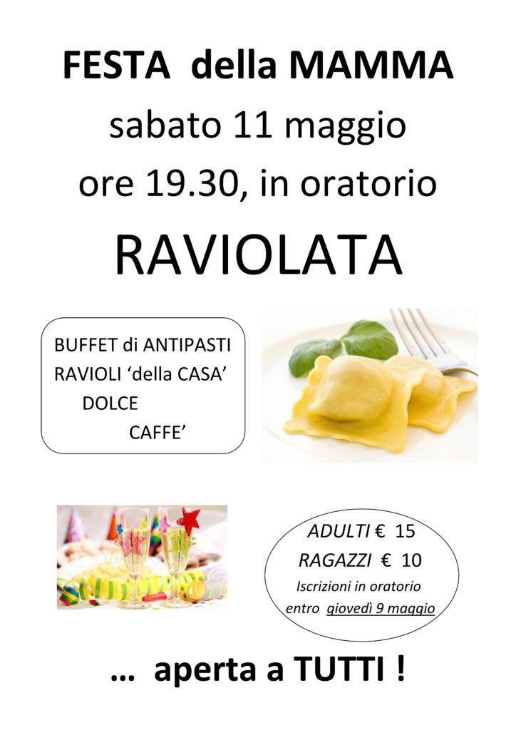 FESTA MAMMA - raviolata