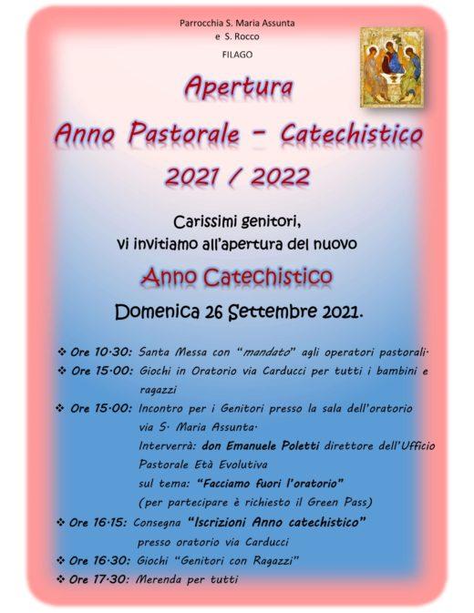 apertura anno pastorale 21-22 ok1